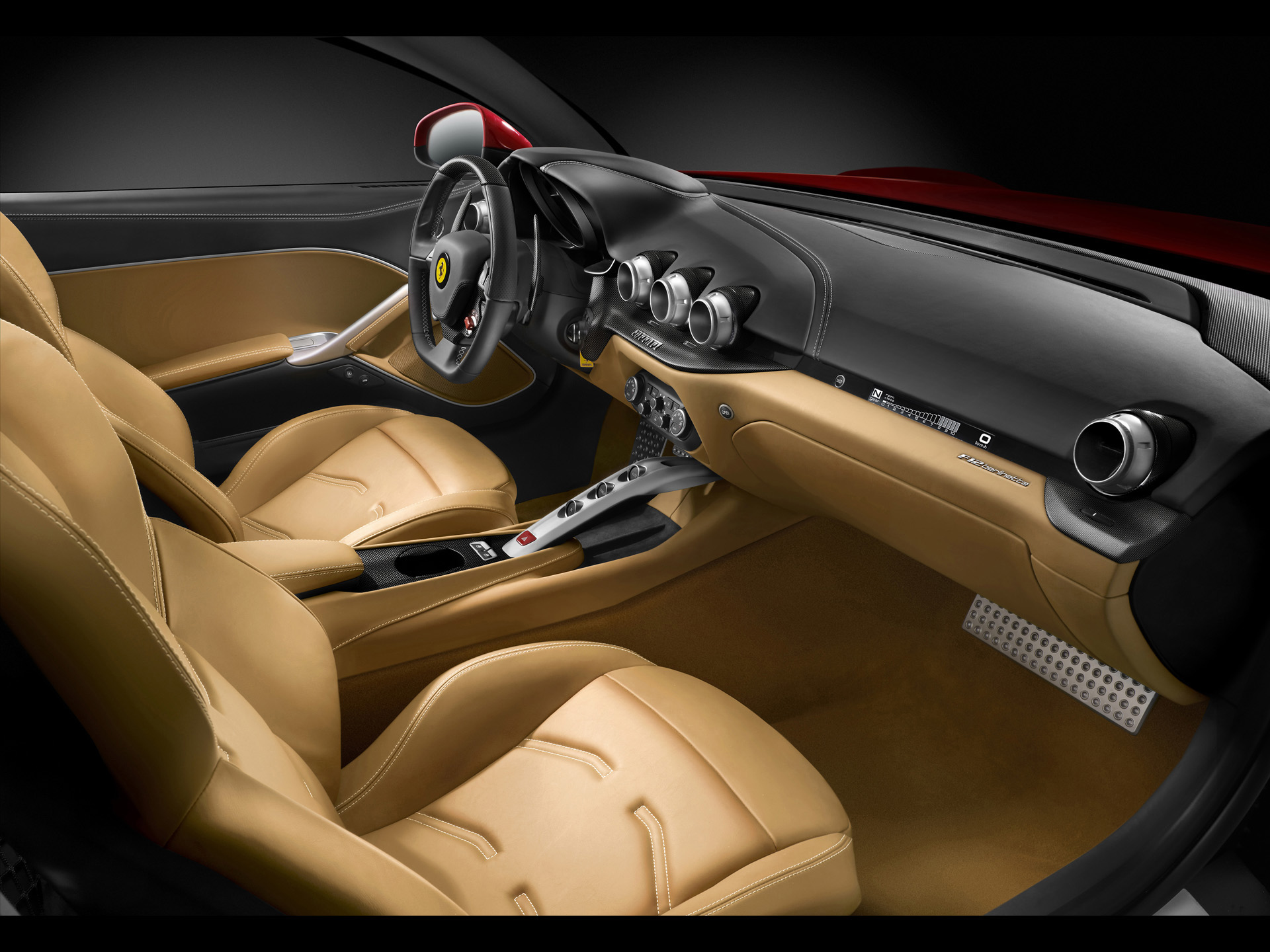 Ferrari F12 Berlinetta interior #1