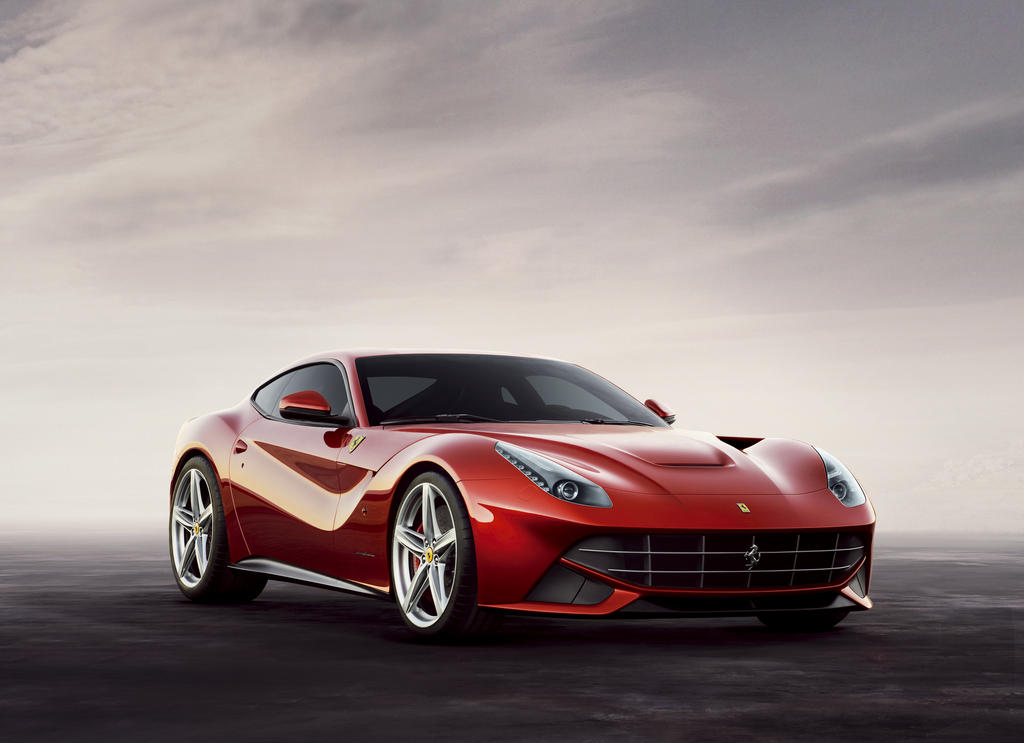 Ferrari F12 Berlinetta red #3