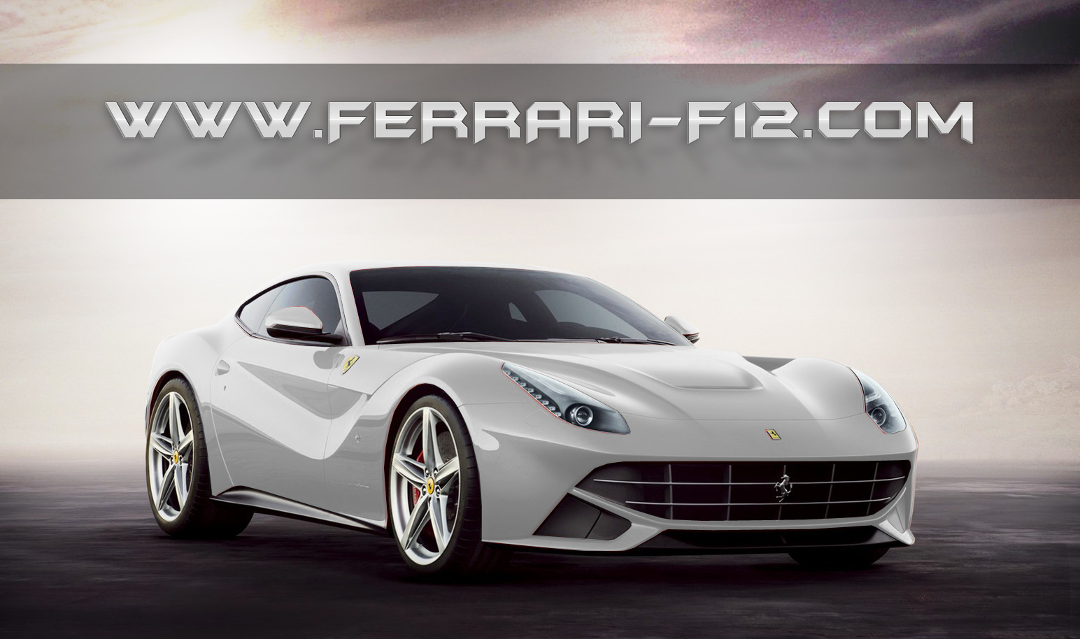 Ferrari F12 Berlinetta white #3