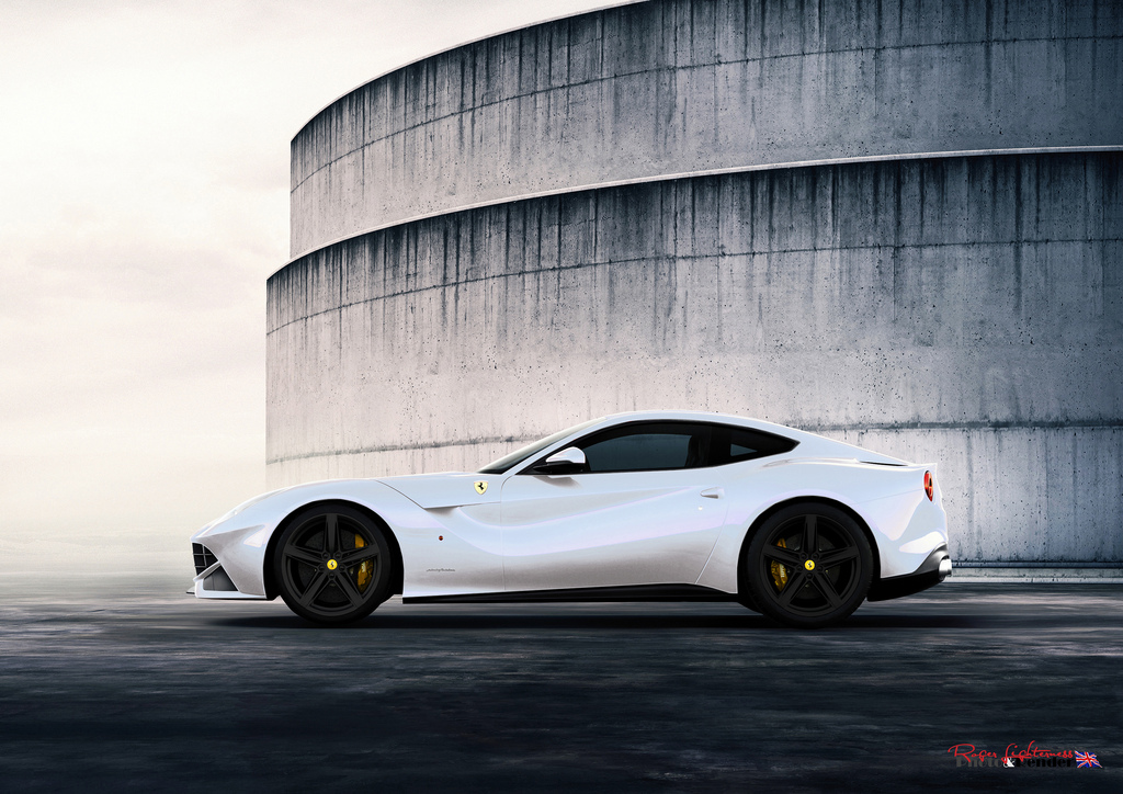 Ferrari F12 Berlinetta white #4