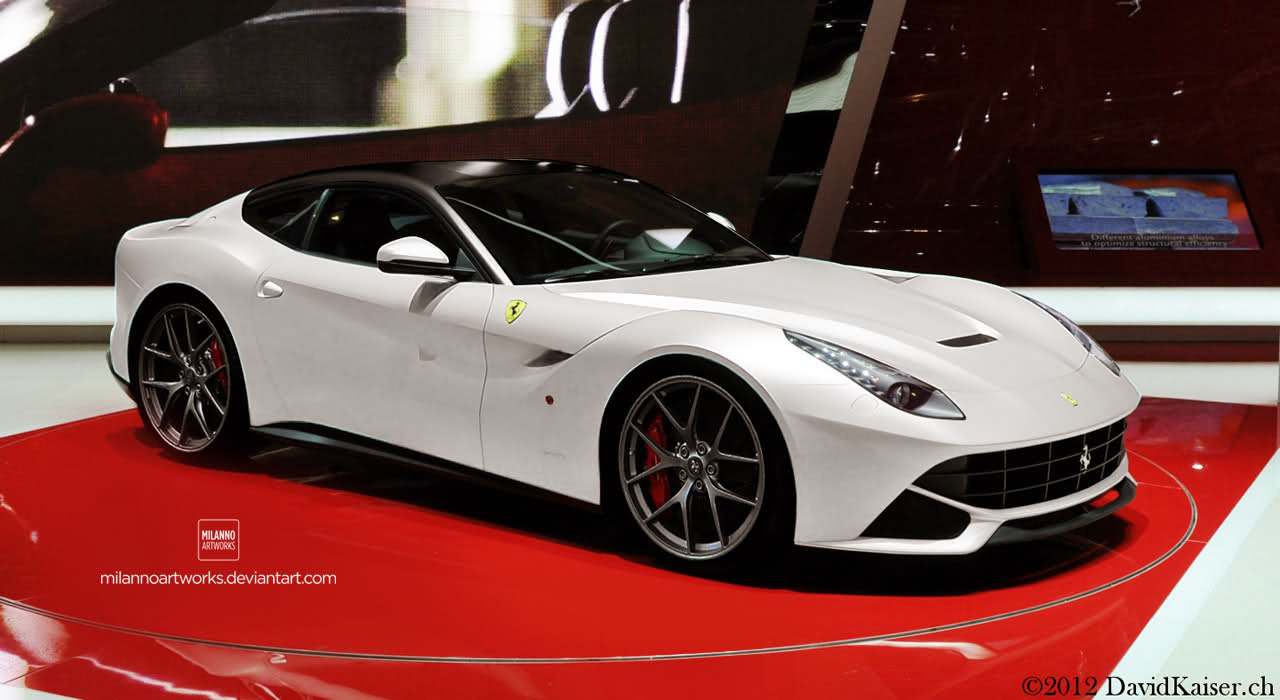 Ferrari F12 Berlinetta white #1