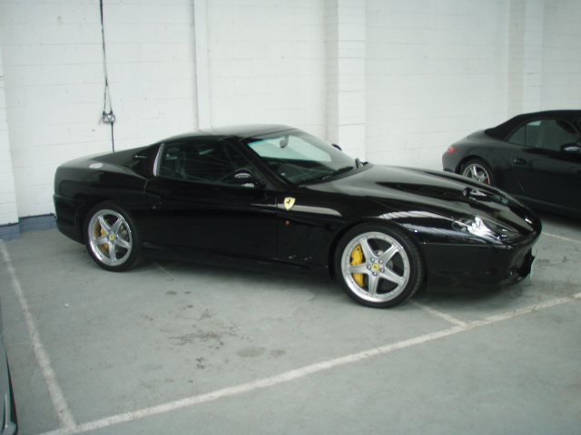 Ferrari Superamerica black #1