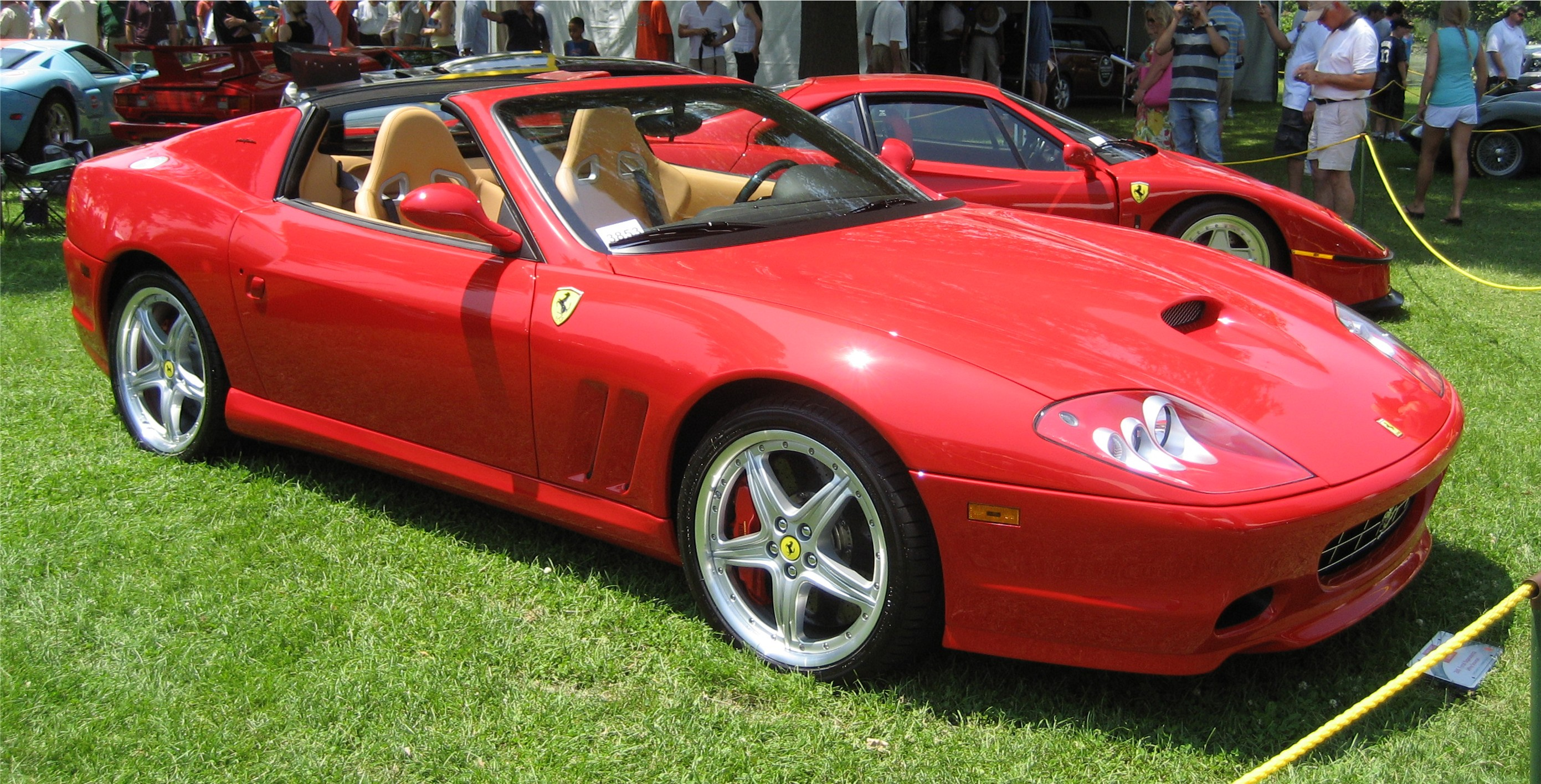 Ferrari Superamerica red #4