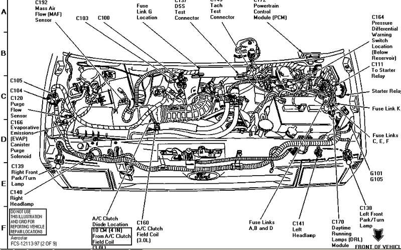 Ford Aerostar engine #3