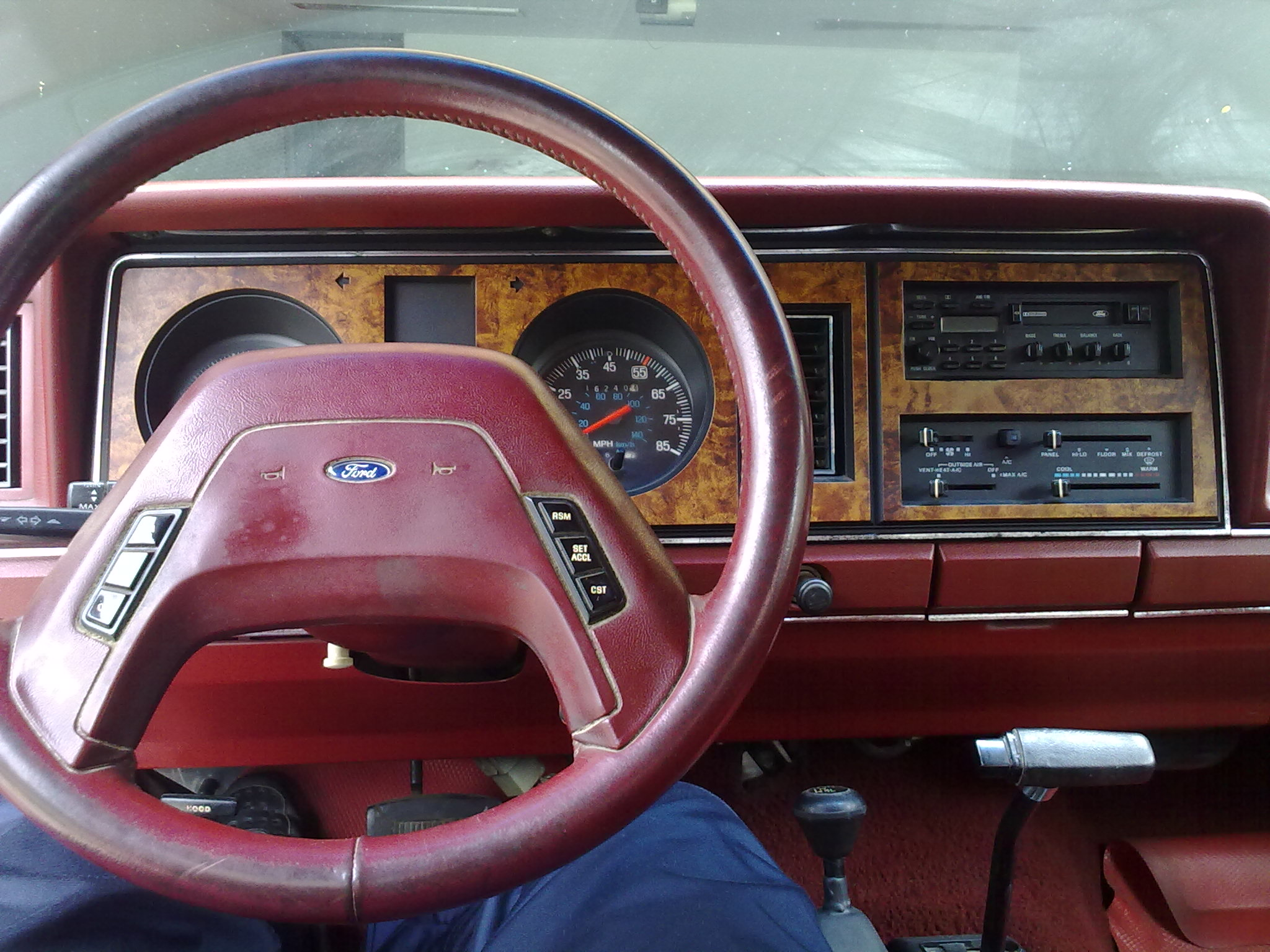 Ford Bronco II interior #4
