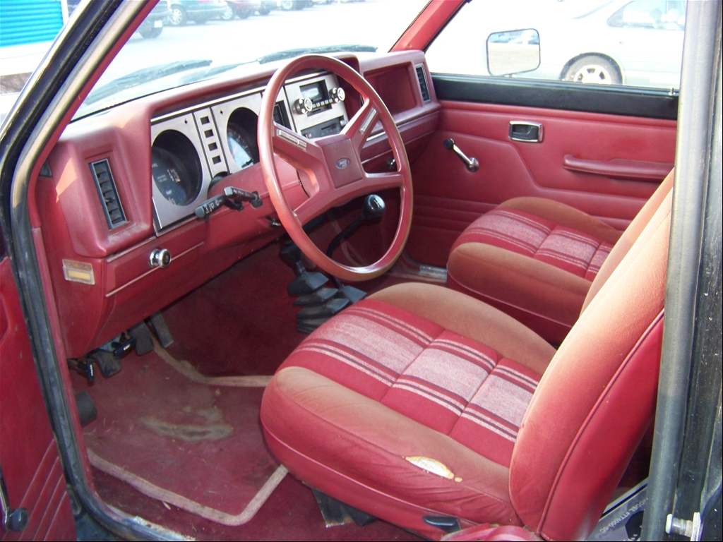 Ford Bronco II interior #1