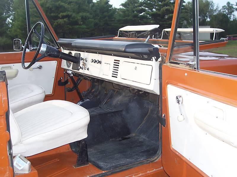 Ford Bronco interior #3