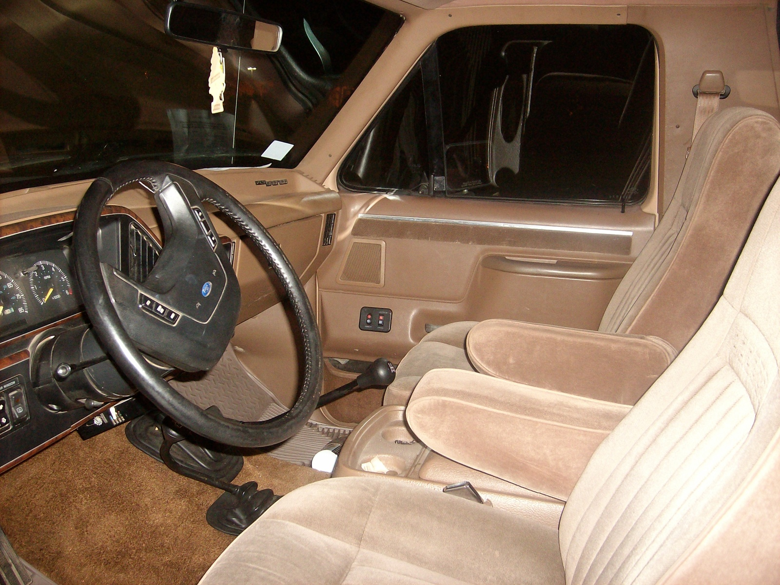 Ford Bronco interior #1