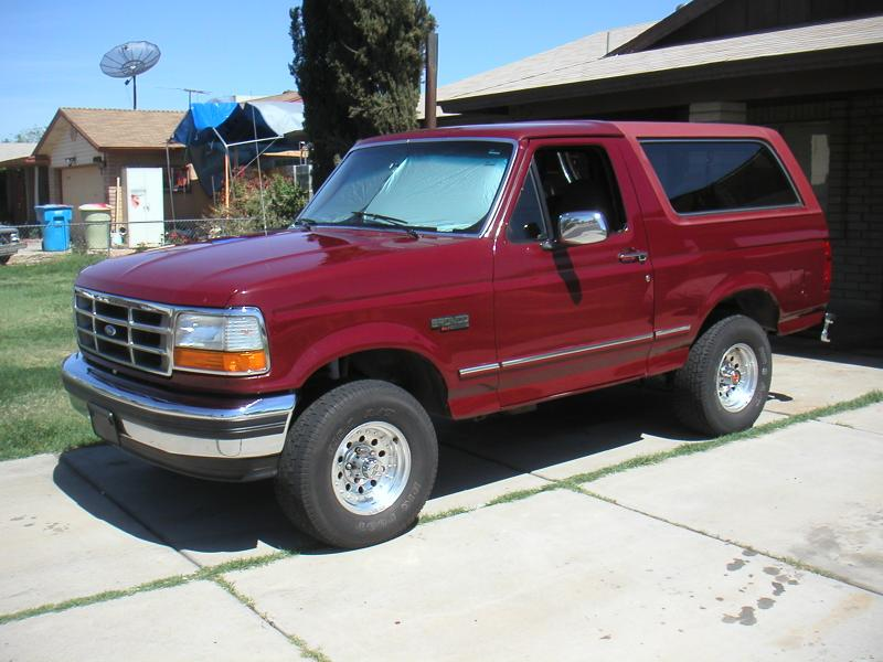 Ford Bronco red #3