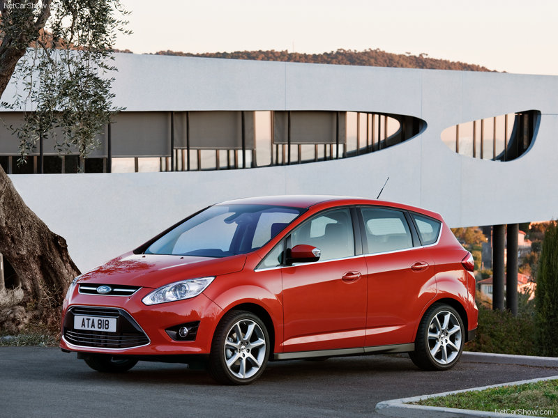 Ford C-Max Hybrid red #3