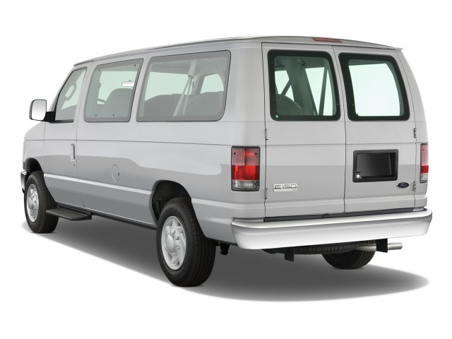 Ford Econoline Wagon white #1