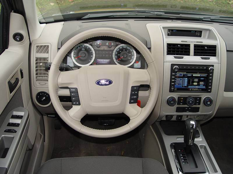 Ford Escape interior #2
