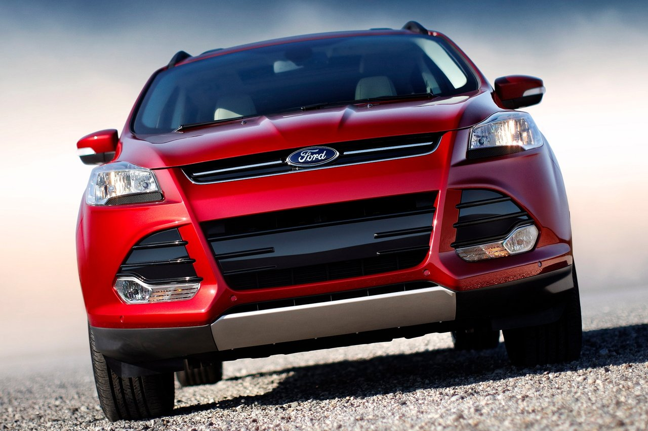 Ford Escape red #2