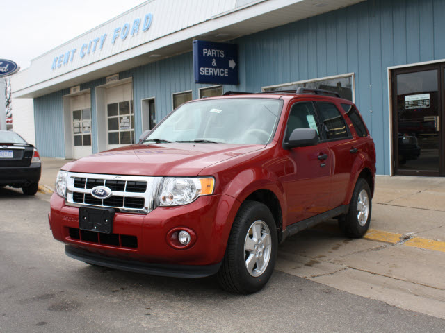 Ford Escape red #3