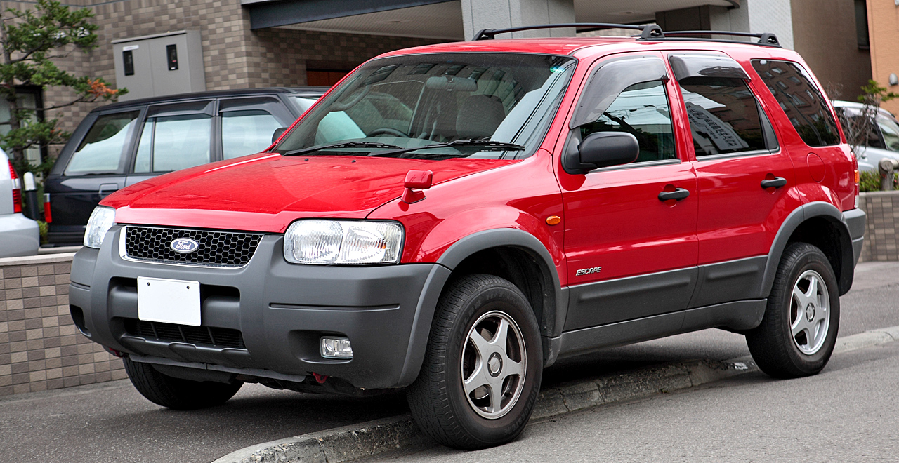 Ford Escape red #4