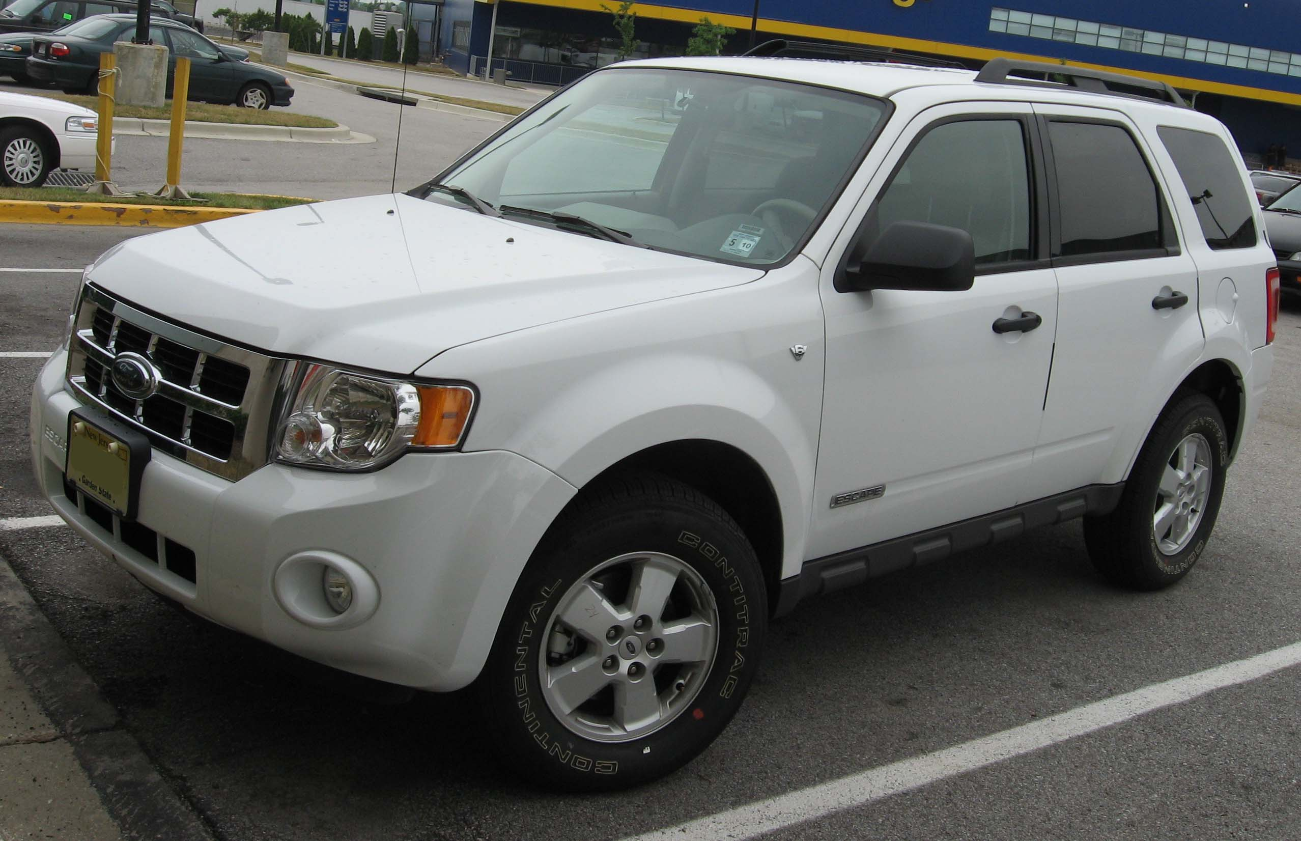 Ford Escape white #4