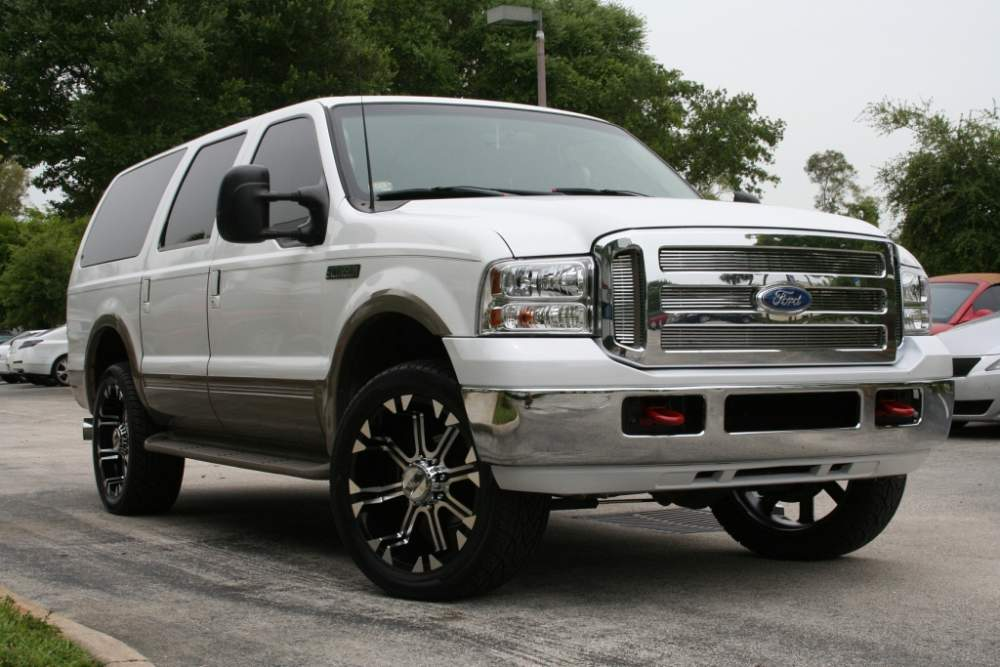 Ford Excursion wheels #2