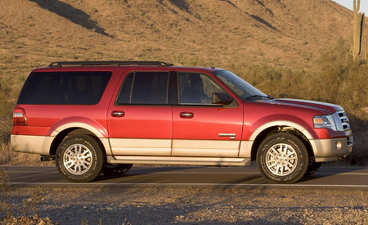 Ford Expedition EL red #3