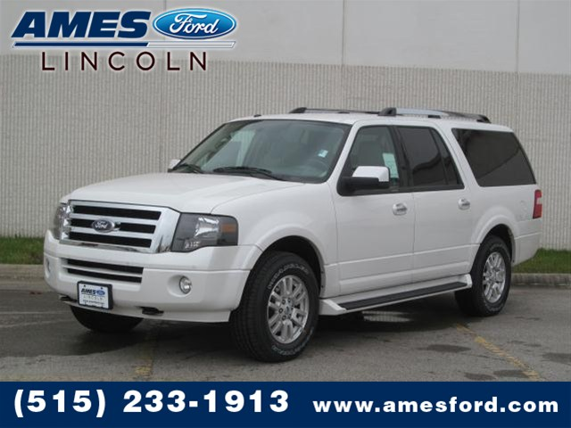 Ford Expedition EL white #4