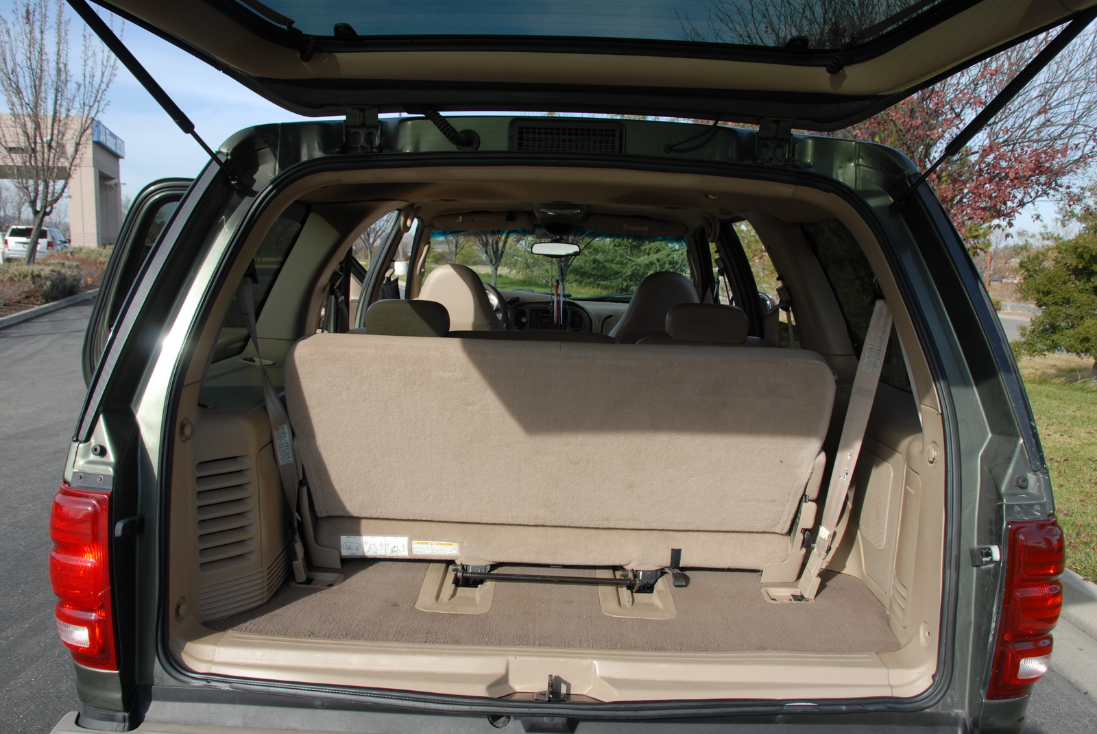 Ford Expedition interior #2