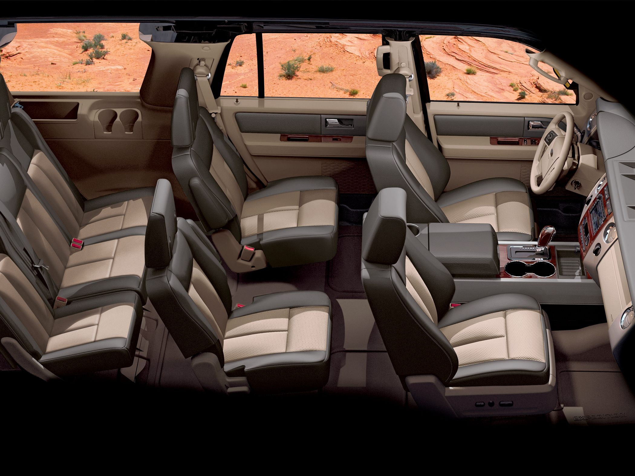 Ford Expedition interior #4