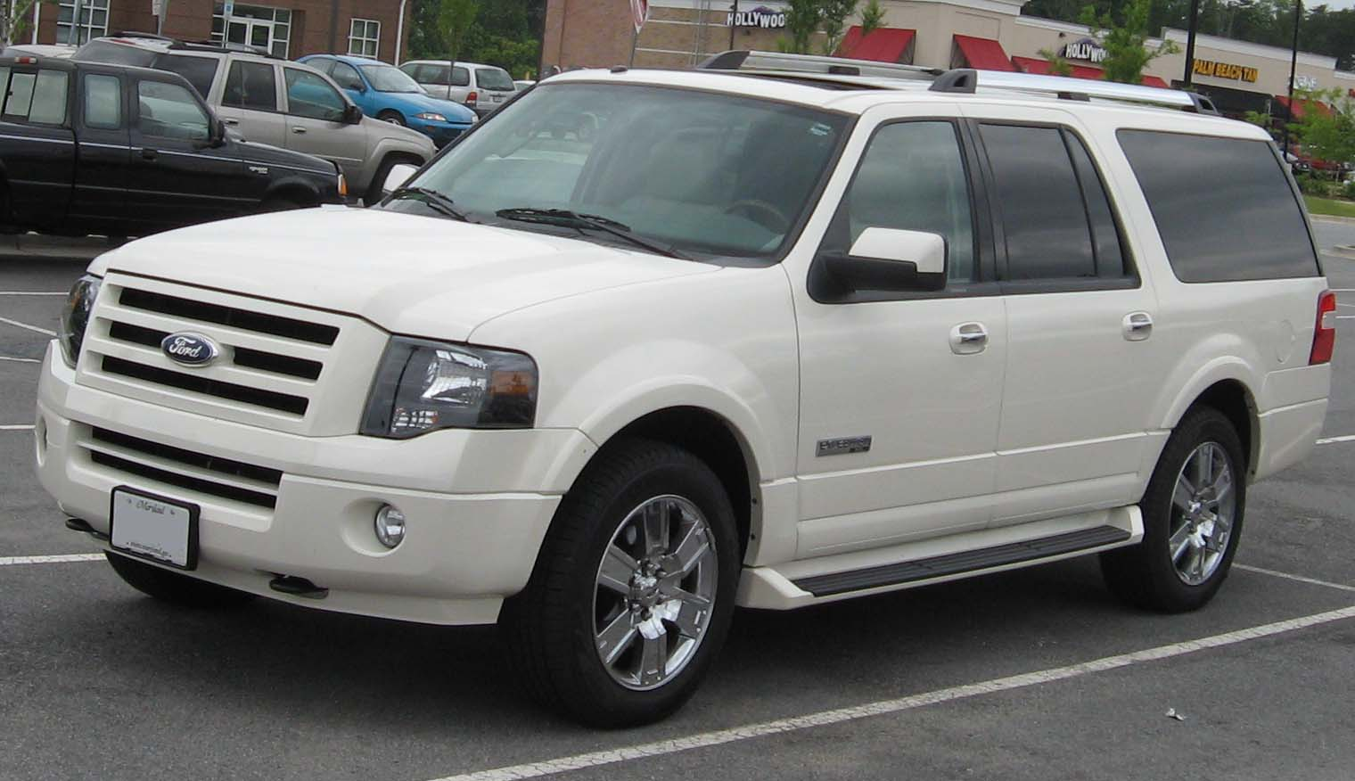 Ford Expedition white #1