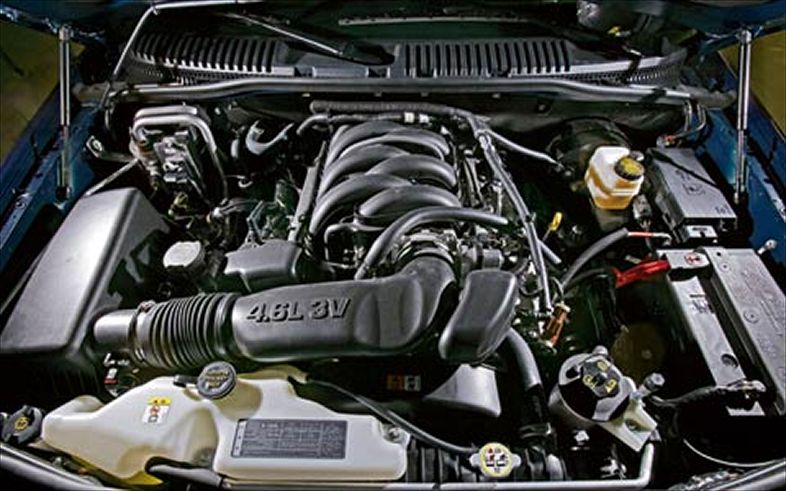 Ford Explorer Sport Trac engine #2