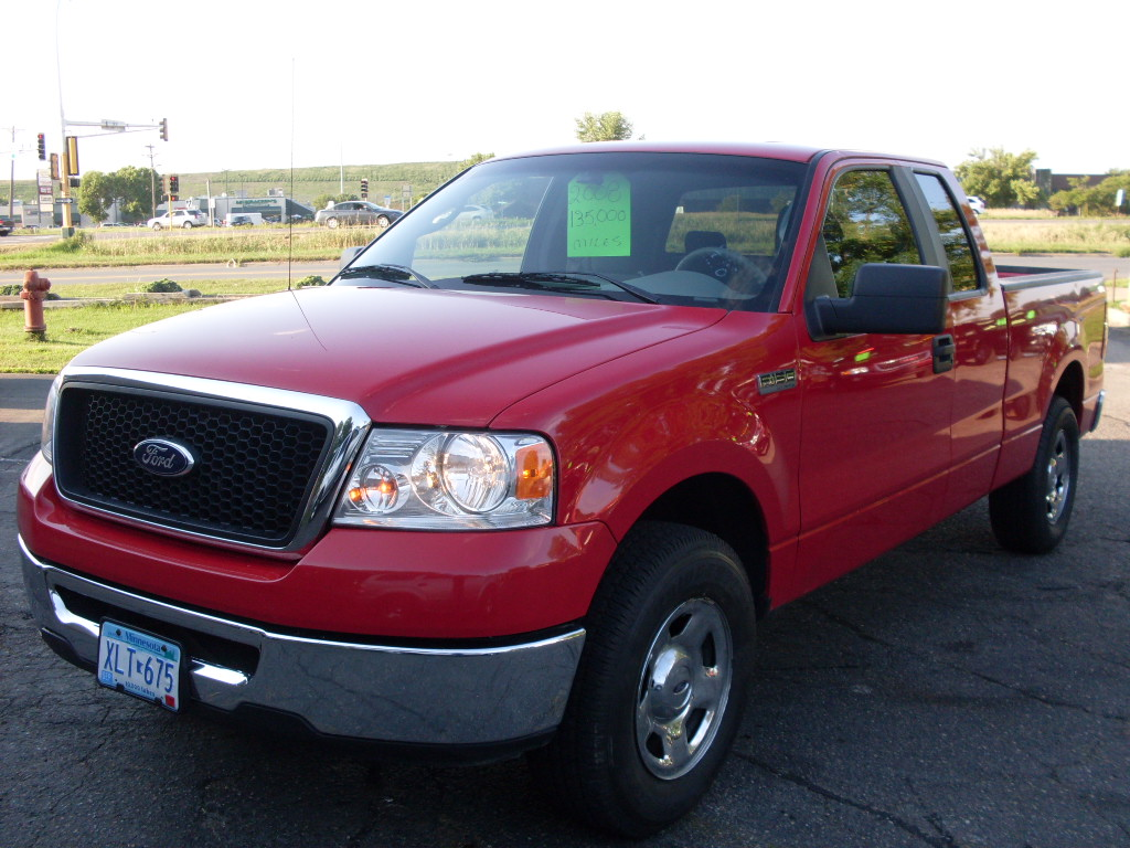 Ford F-150 red #2