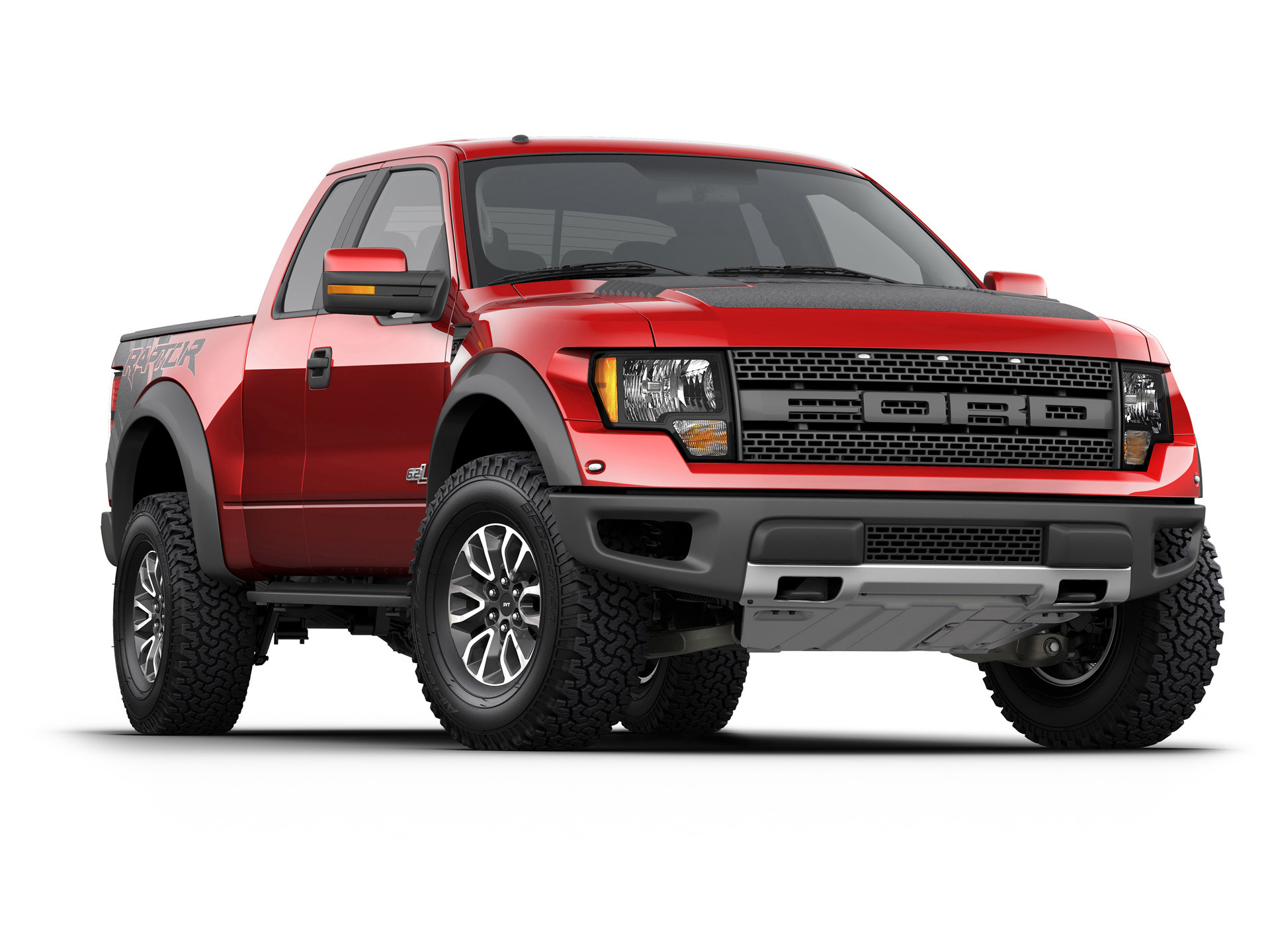 Ford F-150 red #3