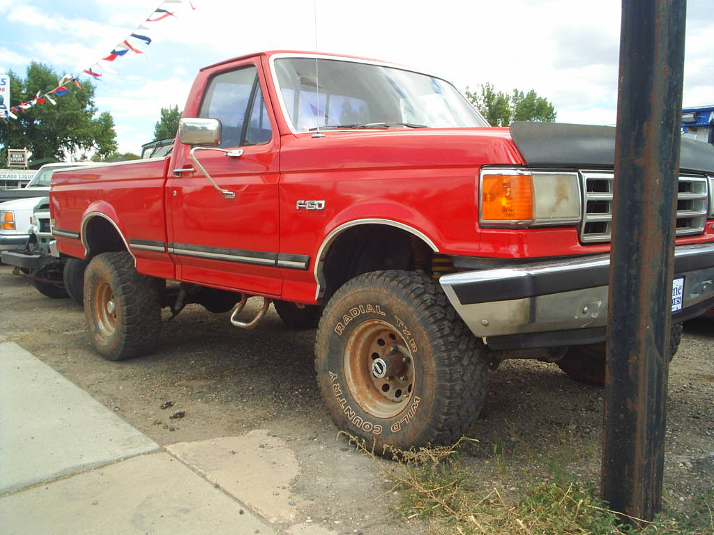 Ford F-150 red #1