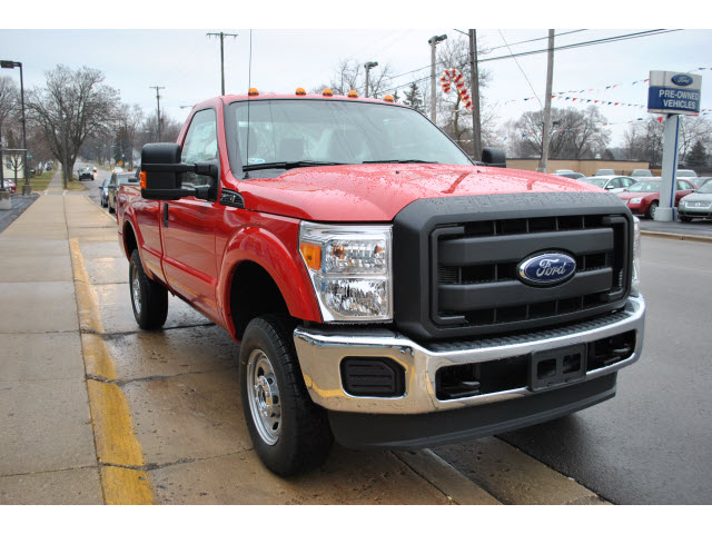 Ford F-250 red #4