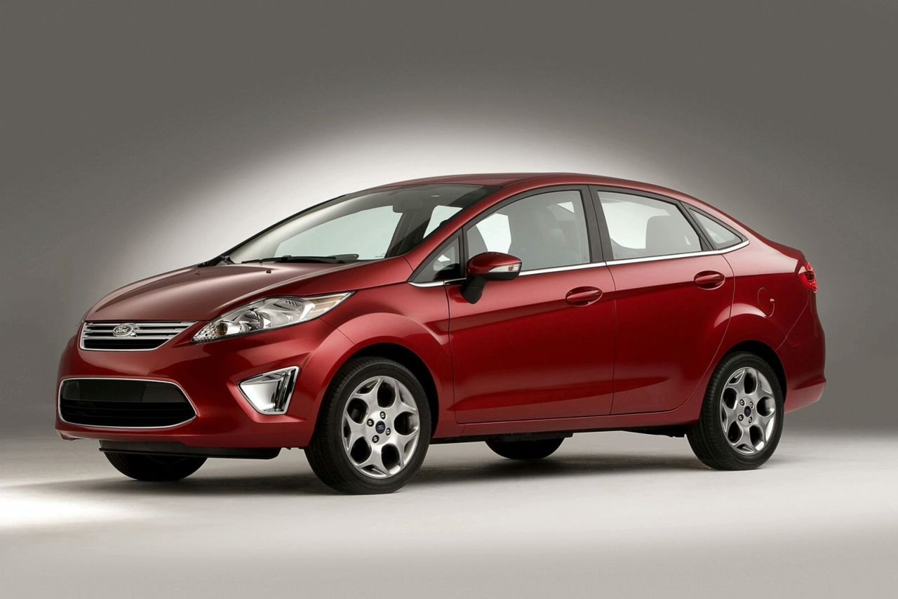 Ford Fiesta red #4