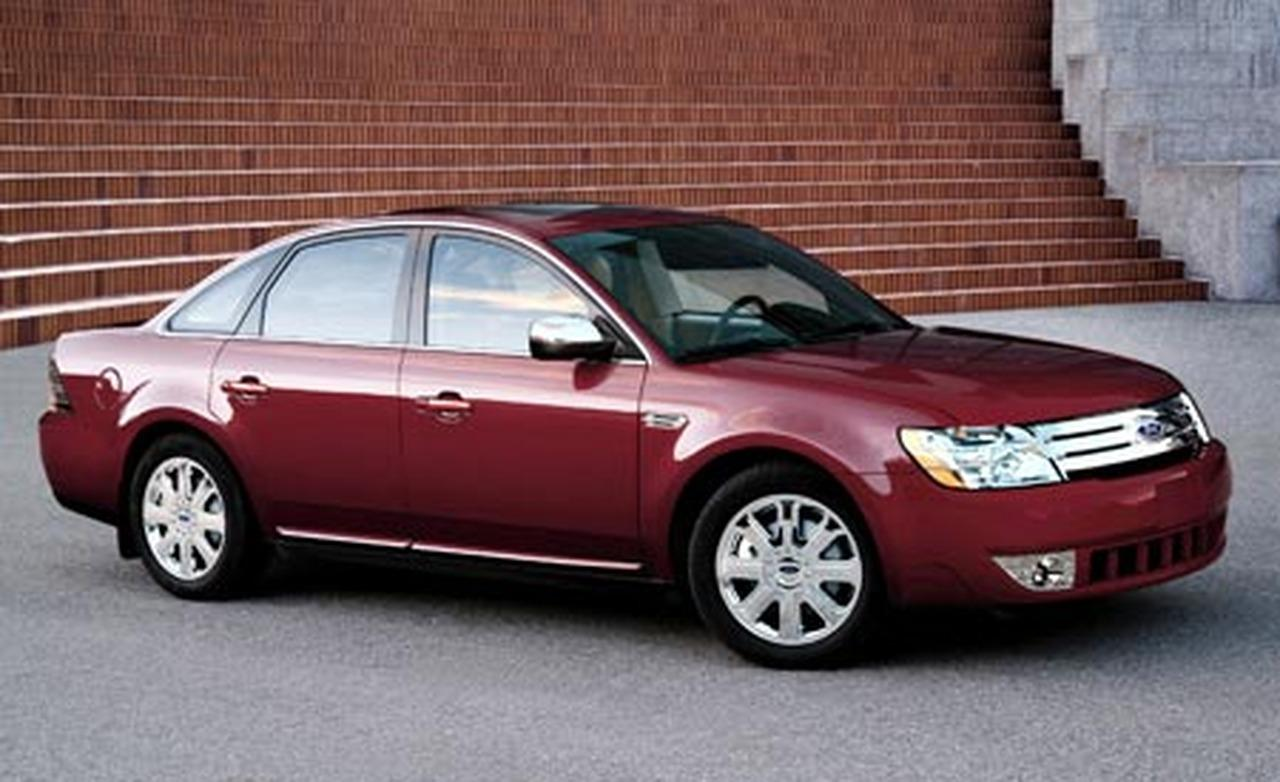 Ford Five Hundred red #4