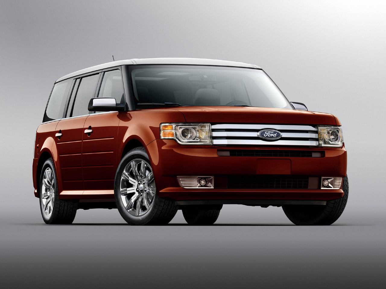 Ford Flex red #2