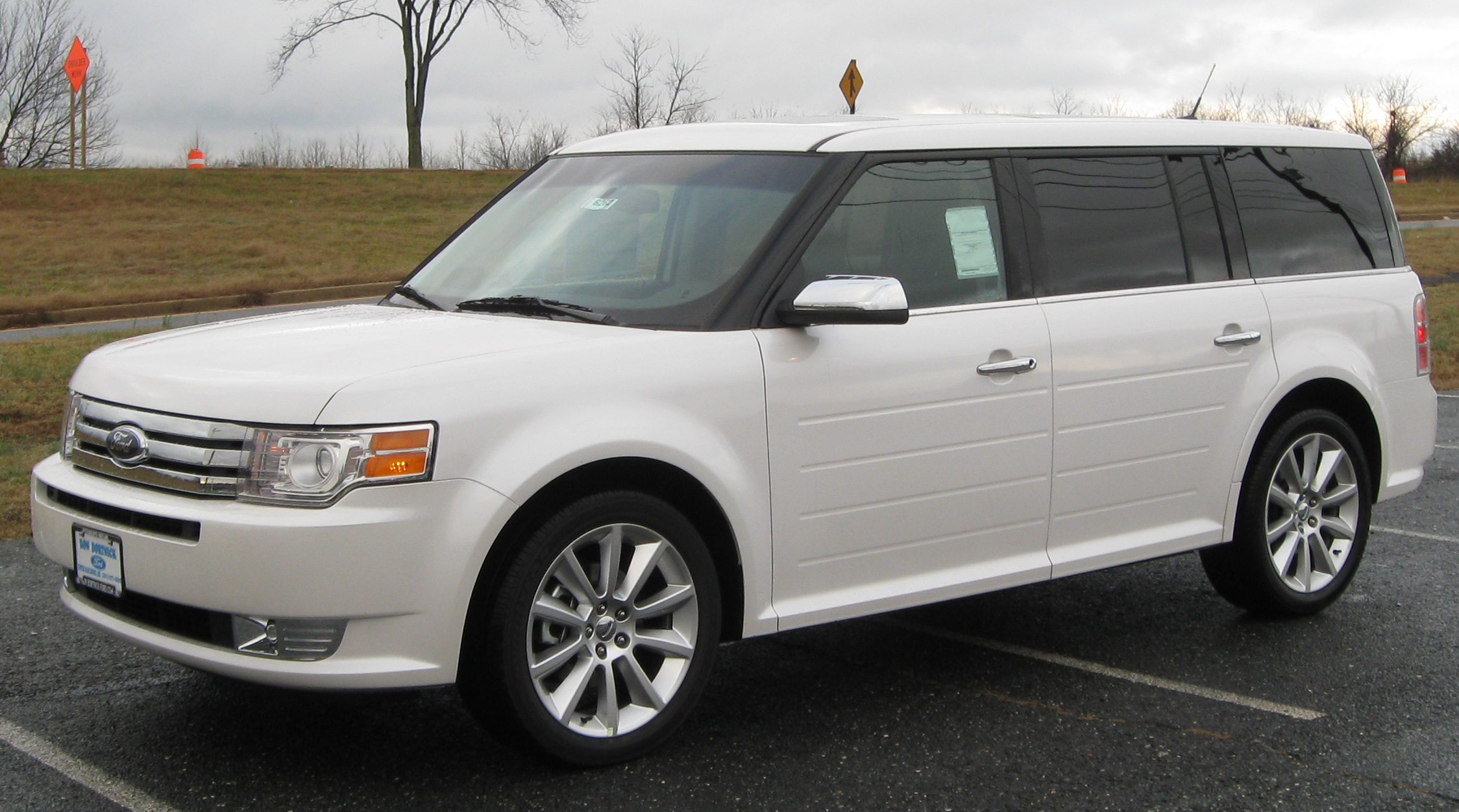 Ford Flex white #2