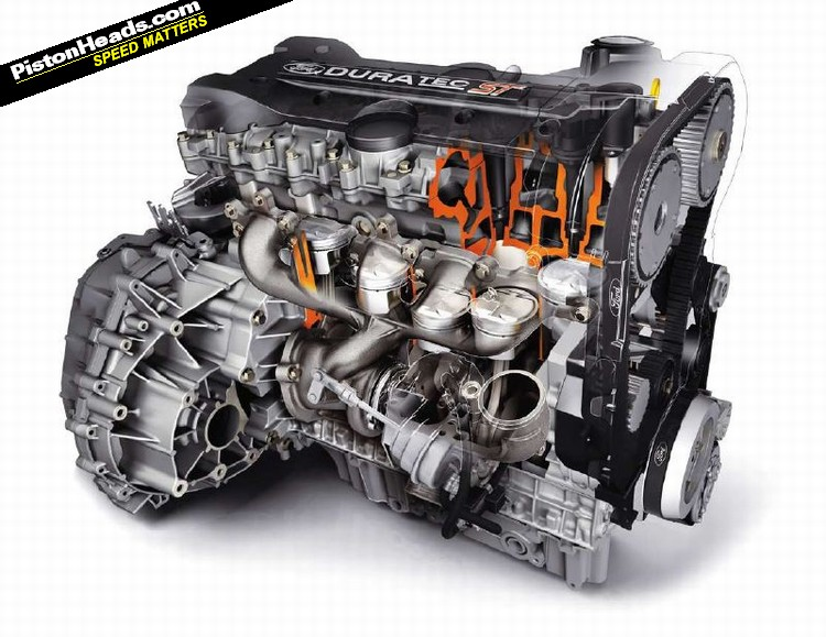 Ford Focus ST engine #1