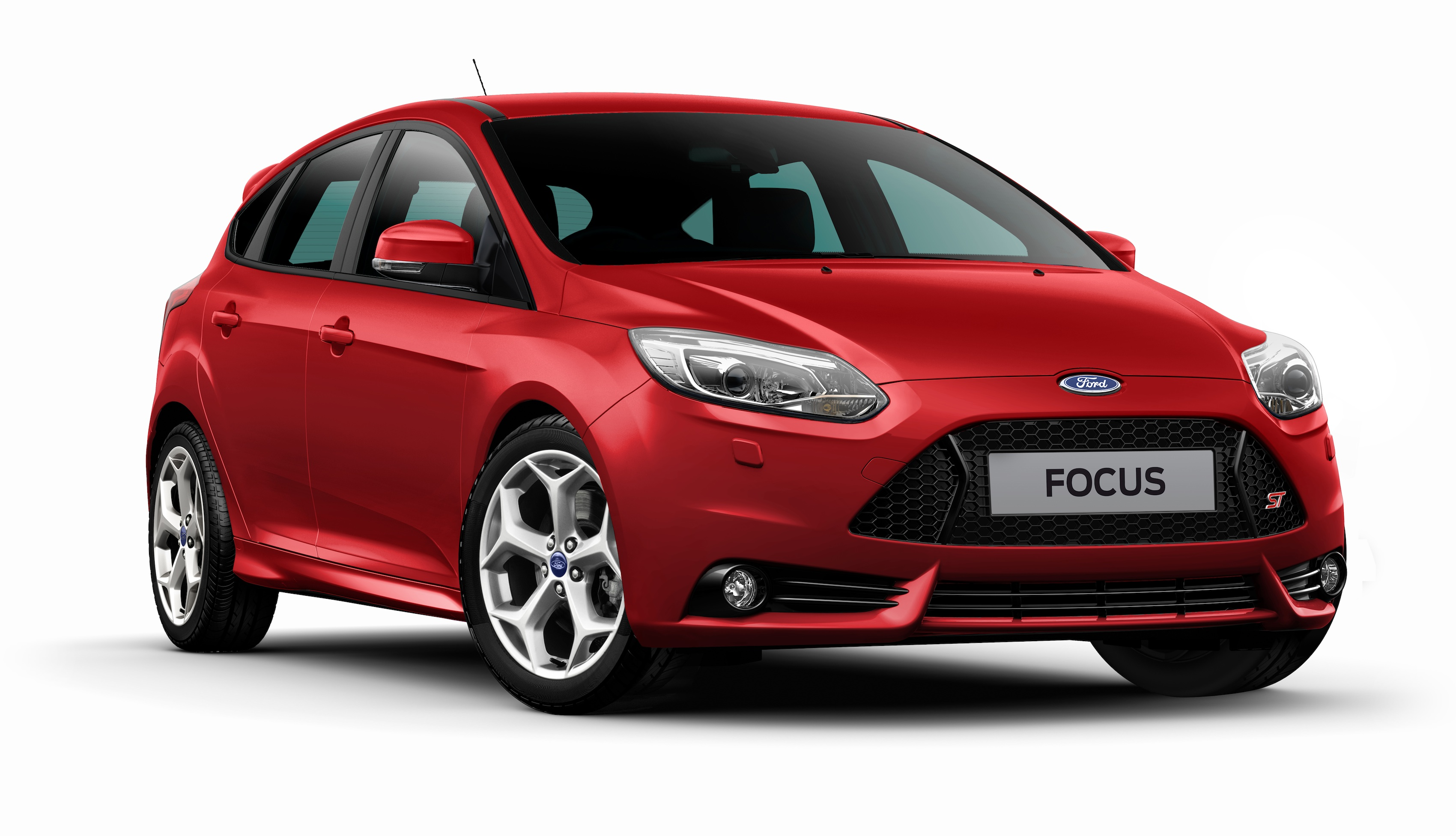 Ford Focus ST red #2