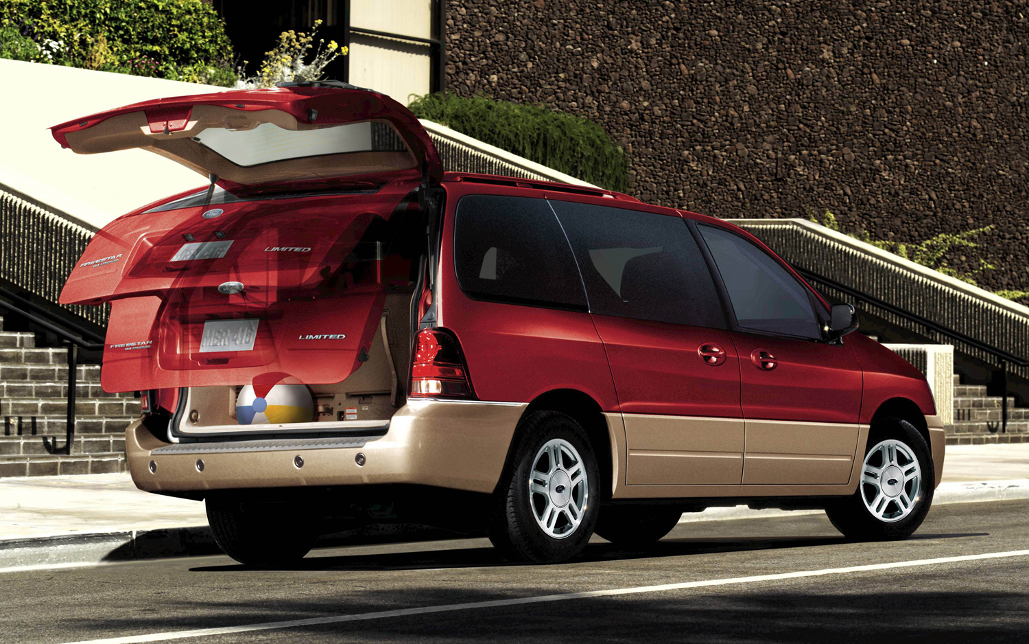 Ford Freestar red #3
