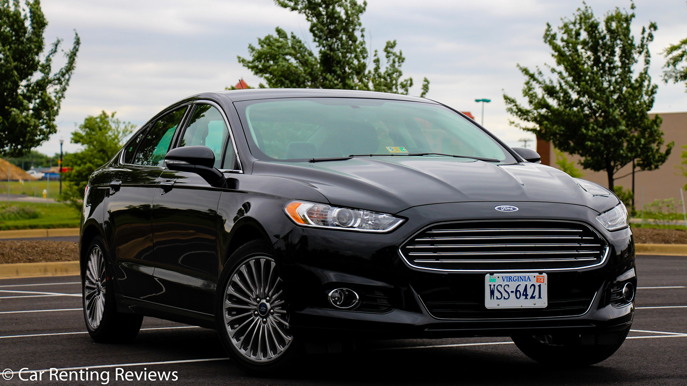 Ford Fusion black #2