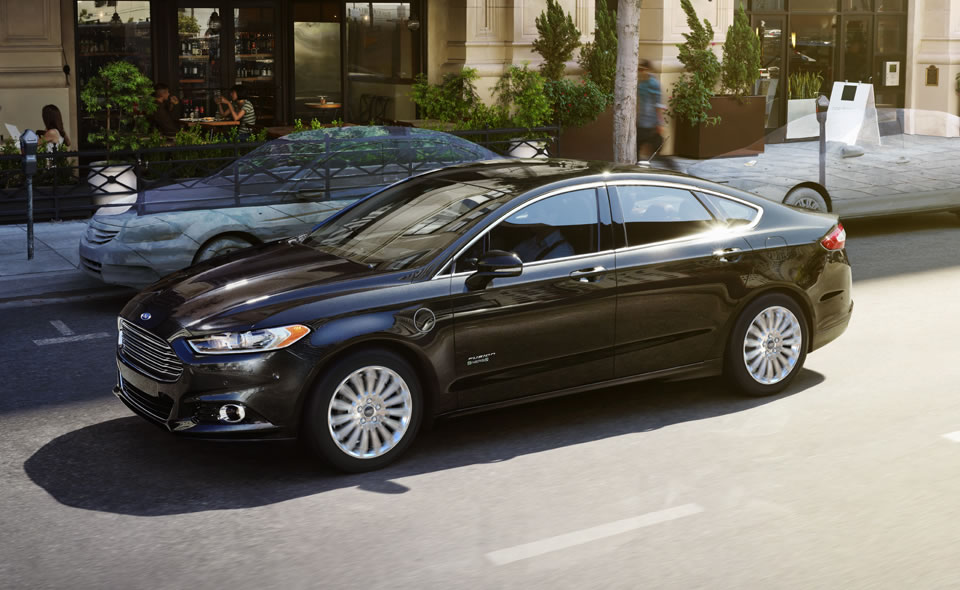 Ford Fusion Energi wheels #4