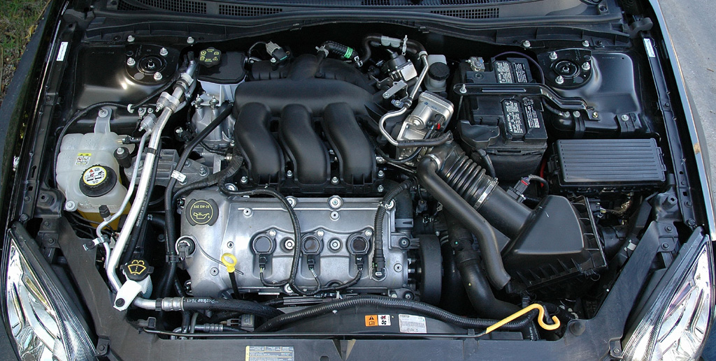 Ford Fusion engine #4