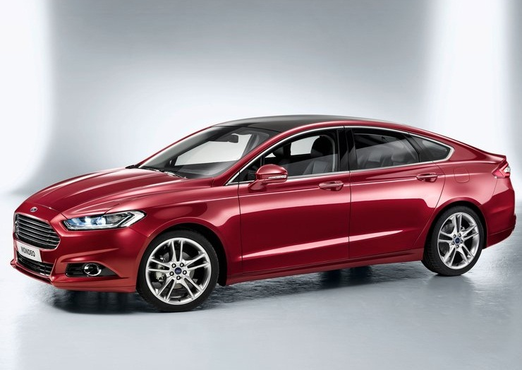 Ford Fusion Hybrid red #4