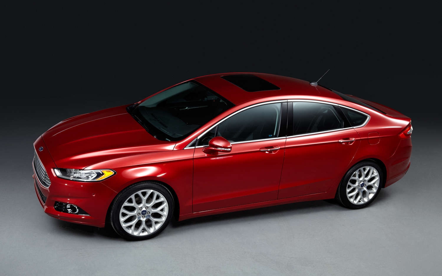 Ford Fusion red #1
