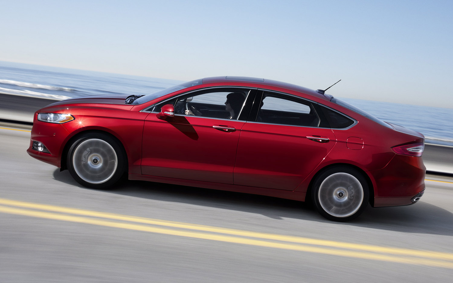 Ford Fusion red #2
