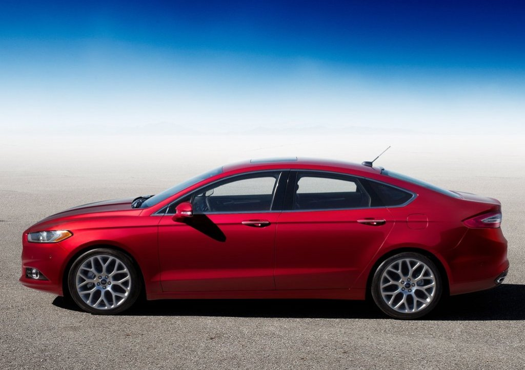 Ford Fusion red #3