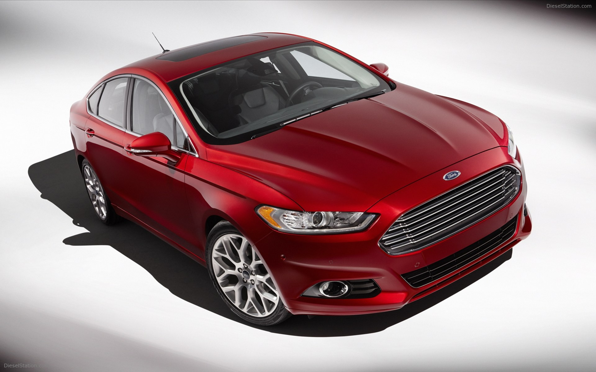 Ford Fusion red #4