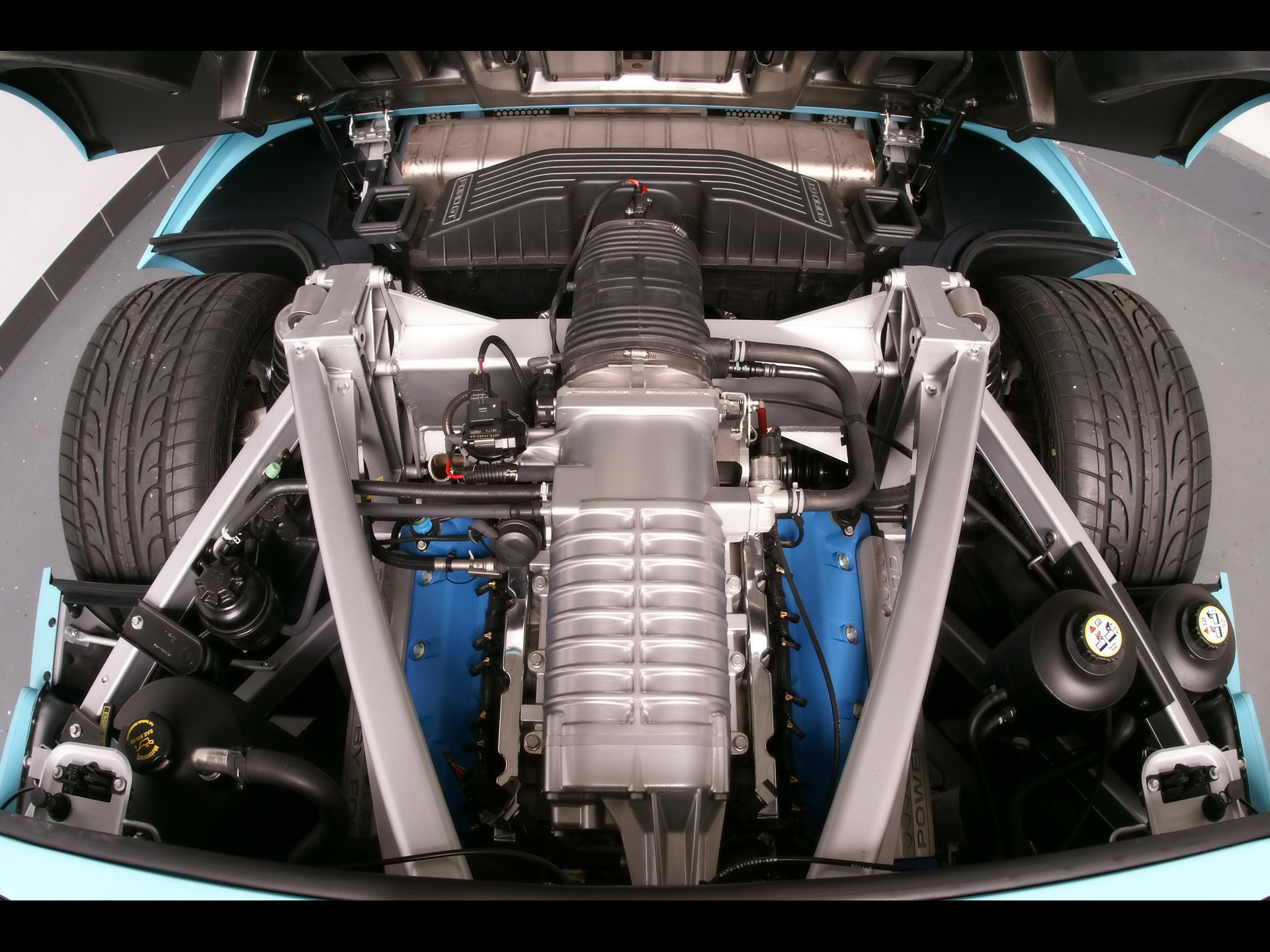 Ford GT engine #1