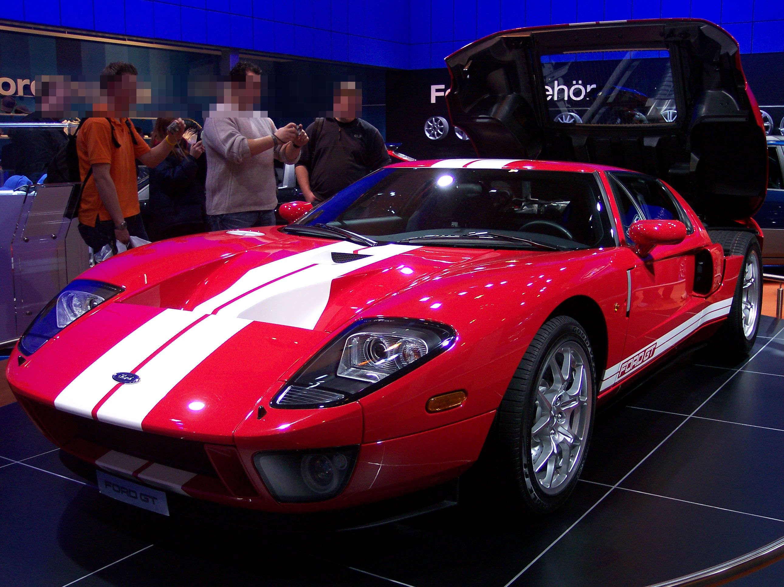 Ford GT red #1