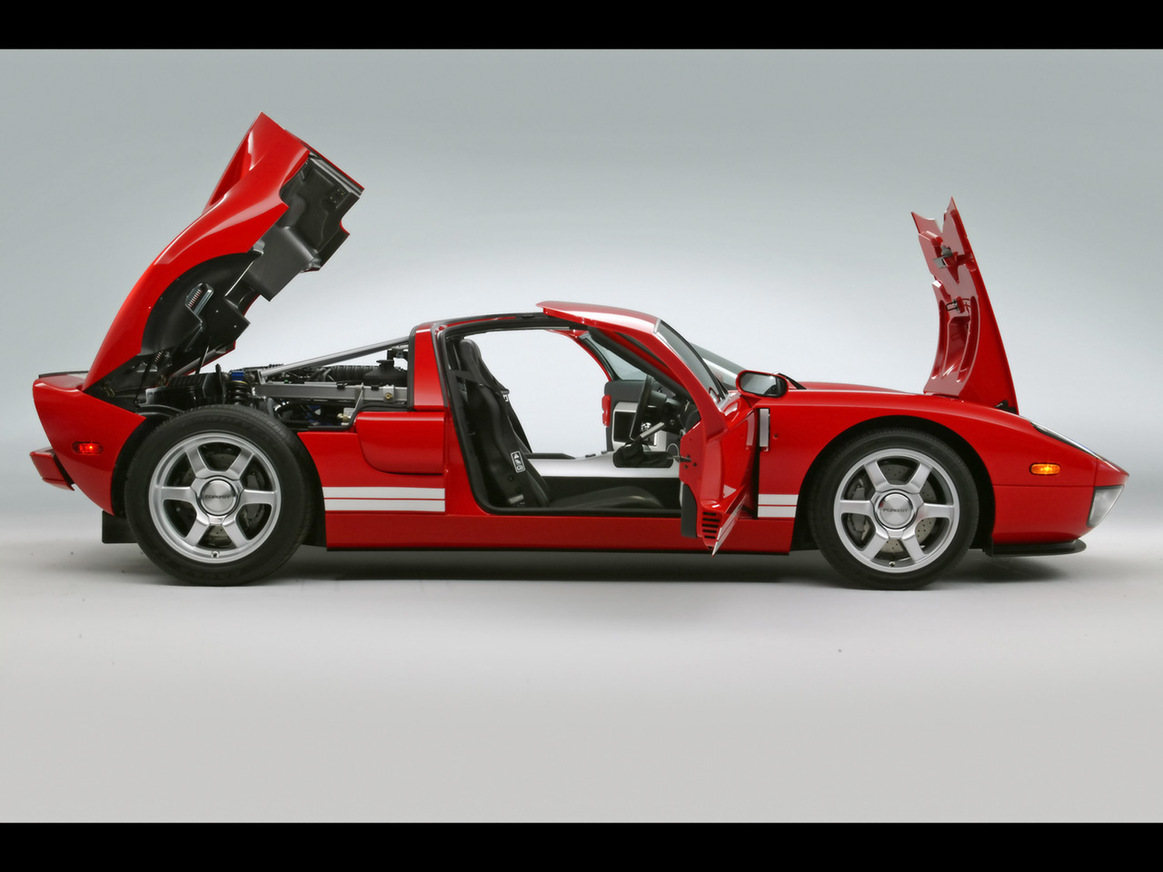 Ford GT red #4