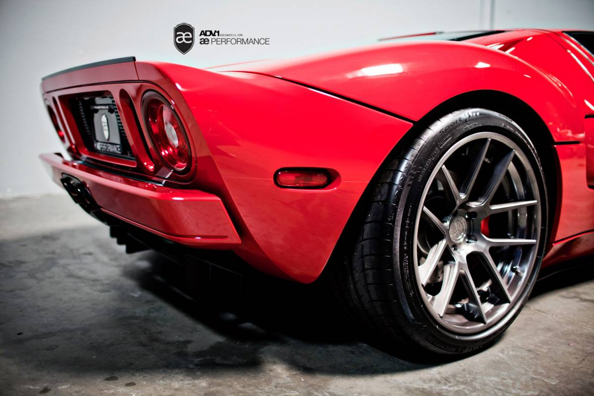 Ford GT wheels #1